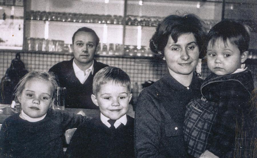 Familie Hauri - im Jahr 1967