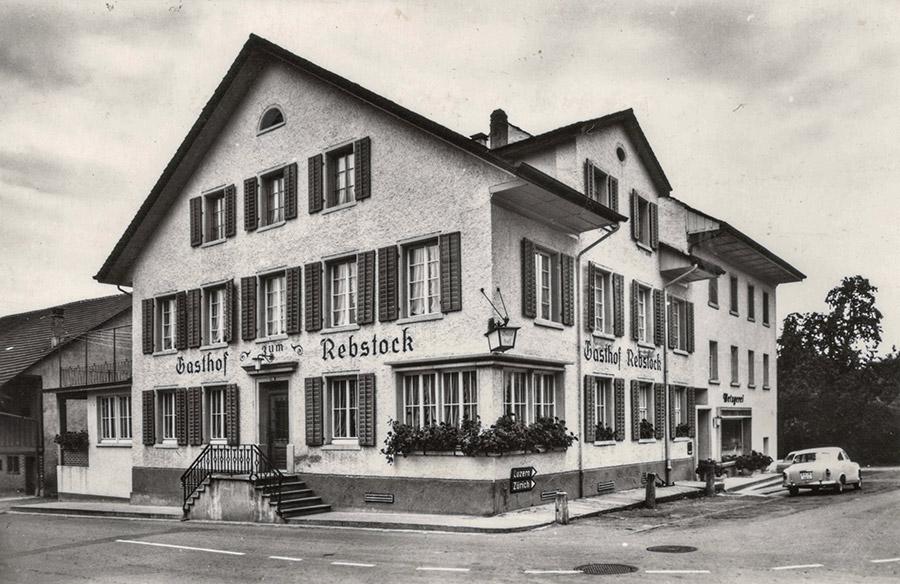 Restaurant Rebstock früher