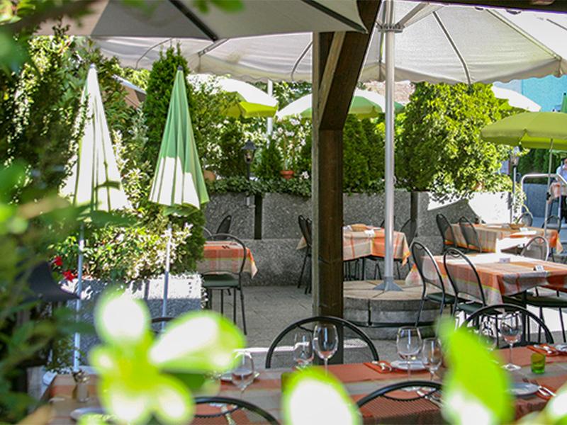 Restaurant Rebstock - Terrasse