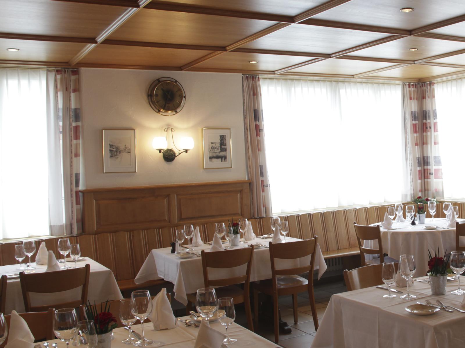 Räumlichkeiten Restaurant Rebstock - Stübli